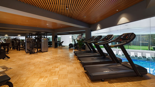 Sala de fitness de la ANA Wellness & SPA Crowne Plaza Bucuresti